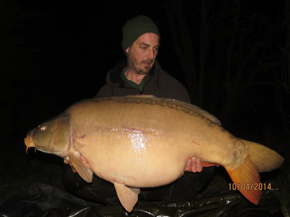 56lbs 7oz Stuart Hicks